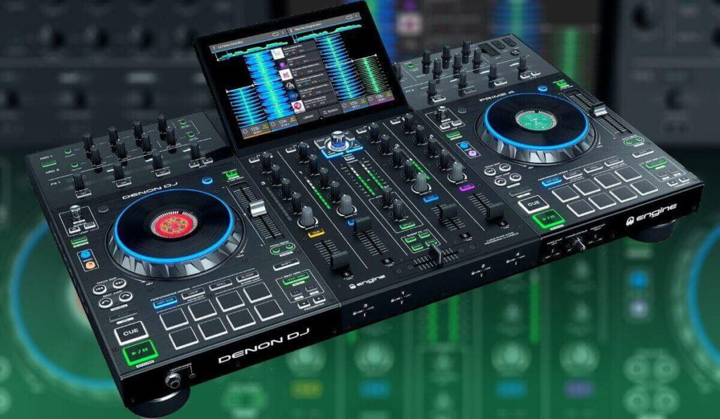 Een foto van de Denon DJ Prime 4