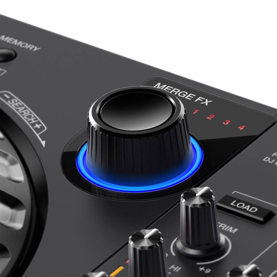De merge FX knop op de Pioneer DDJ FLX6
